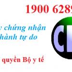 Xin cấp giấy chứng nhận lưu hành tự do (CFS)