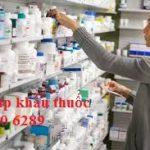 Tư vấn nhập khẩu thuốc chưa có Giấy đăng ký lưu hành