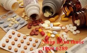 Tư vấn nhập khẩu thuốc không vì mục đích thương mại