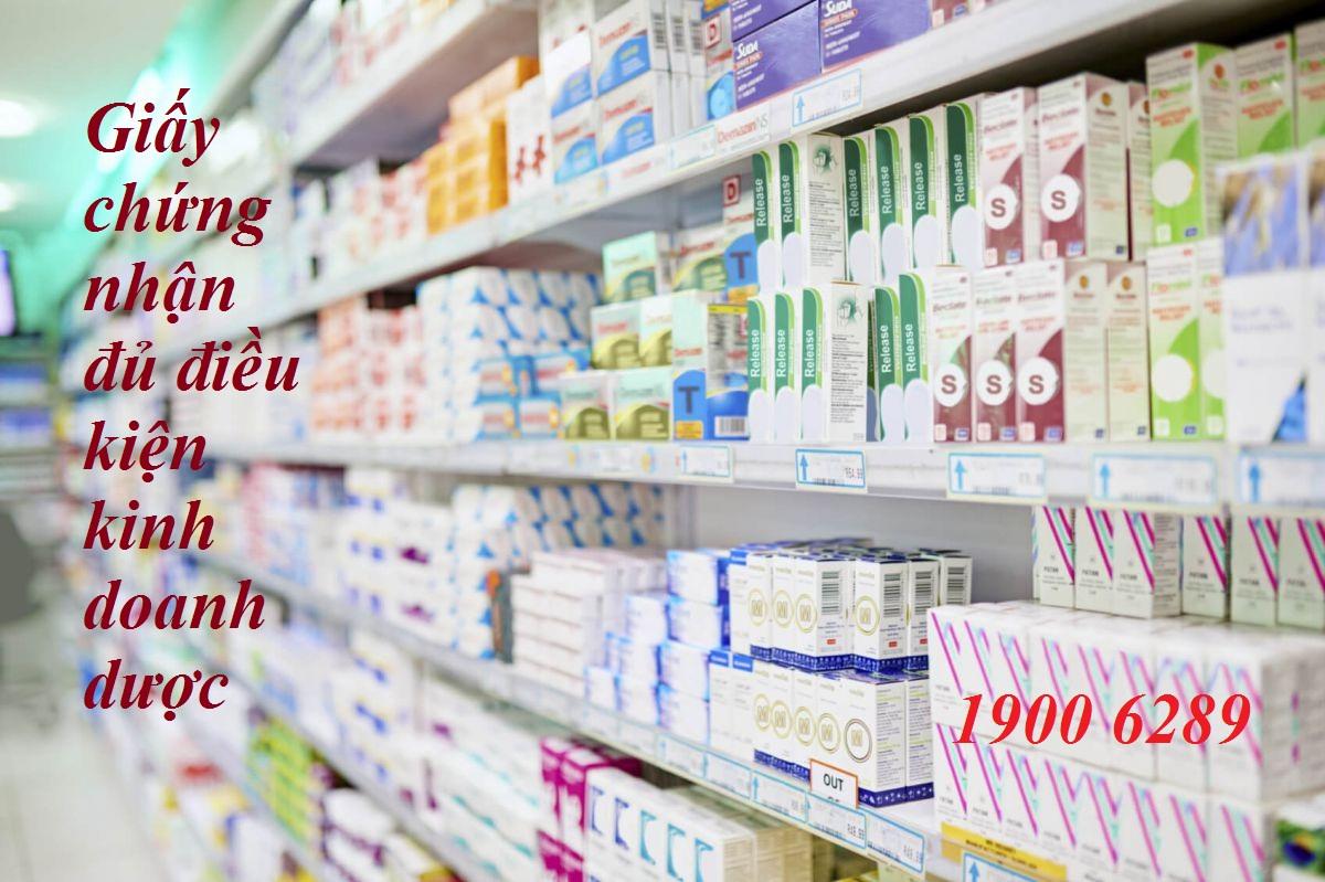 Thủ tục xin Giấy chứng nhận đủ điều kiện kinh doanh dược