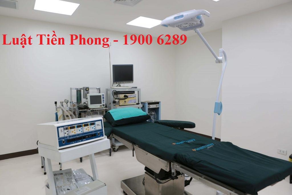 Phạm vi hoạt động của phòng khám phẫu thuật thẩm mỹ